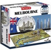 Puzzle 4D Cityscape Melbourne 1200+ piese
