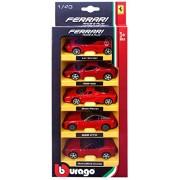 Bburago Ferrari 5 pack - Asst1
