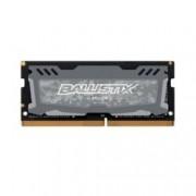 8GB DDR4 2666MHz, SO-DIMM, Crucial Ballistix Sport LT BLS8G4S26BFSD, 1.2V