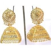 Golden Dulhan Wedding Jhumka Earring