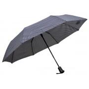 Umbrela Pliabila ICONIC Automata, Neagra cu buline,