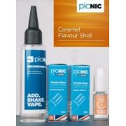 Lichid Tigara Electronica Premium Jac Vapour Caramel 70ml, Nicotina 5,1mg/ml, 80%VG 20%PG, Fabricat in UK, Pachet DiY