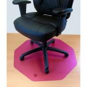 Tappeti protettivi in policarbonato Floortex Per pavimenti 96x97x0,17 cm rosa-translucido 121001009RC