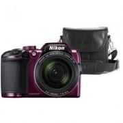 Nikon Aparat Coolpix B500 Fioletowy + Torba CS-P08
