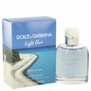 Light Blue Swimming In Lipari For Men By Dolce & Gabbana Eau De Toilette Spray 4.2 Oz