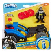 Vehiculo Rally City Batman con Figura - Imaginext - Mattel