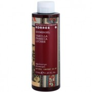 Korres Vanilla (Freesia/Lychee) gel de ducha para mujer 250 ml