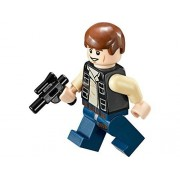 LEGO Star Wars Minifigure Han Solo with Blaster Mos Eisley Cantina (75052)