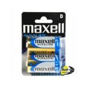 Maxell alkalna baterija D blister LR20