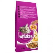 Whiskas Uscat Adult cu pui 14kg