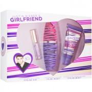 Justin Bieber Girlfriend coffret II. Eau de Parfum 30 ml + perfume 5 ml + leite corporal 50 ml
