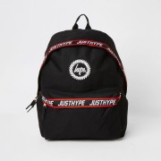 Hype Boys Hype Black tape backpack (One Size)