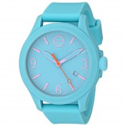 ESQ Movado Unisex 07101432 One Analog Display Swiss Quartz Blue Watch