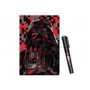 52224 Agenda LEGO Star Wars Darth Wader cu pix cu cerneala invizibila