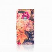 B2Ctelecom Huawei Y7 2018 Hoesje Bosje Bloemen