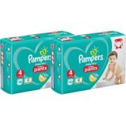 Pampers - Baby Dry Pants - Luiers Maat 4 (9-15 kg) - 2 x 40 (80) stuks