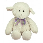 Melissa and Doug Lovey Princess Soft Toys - Lamb, White (16-inch)