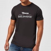The Big Lebowski Camiseta El gran Lebowski Logjammin - Hombre - Negro - XXL - Negro