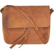 Bagged for Good BFG018LB Sling Bag(Brown, 9 inch)