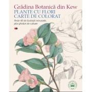 Gradina Botanica din Kew. Plante cu flori - Carte de colorat