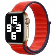 Curea Original Apple Watch 40mm Sport Loop Red (Seasonal Fall 2020)