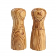 T&G Woodware T&G Luca Salt Mill Olive Wood (Pack of 2)