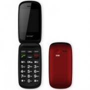 GSM-telefon med flip-lock