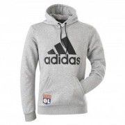 adidas Sweat-shirt adidas adulte gris - 2XL OL - Foot Lyon