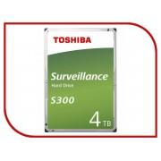 Жесткий диск 4Tb - Toshiba S300 HDWT140UZSVA