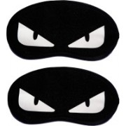 Jonty WhiteEye-WhiteEye Cartoon Travel Sleeping Eye Cover Blindfold (Pack of 2) Eye Shade(Multicolor)