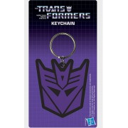 Pyramid Transformers - Decepticon Logo Rubber Keychain