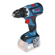 Masina de gaurit si insurubat (bormasina) cu acumulator Bosch Professional GSR 18V-60 C, 18 V, 13 mm madrina, 1900 RPM, 60 Nm, accesorii incluse