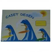 Caiet pentru Desen Albe Format B5, 24 File, 100 g/m