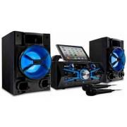 Sistem Audio Akai Karaoke KS5500-BT New Version, CD/MP3 Player, USB, Bluetooh, Radia FM (Negru)