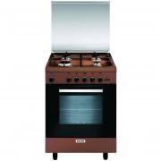 Glem Gas A664gc Cucina 60x60 4 Fuochi A Gas Forno A Gas Con Grill Elettrico 70 L