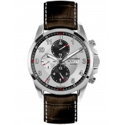 Ceas barbatesc Jacques Lemans 1-1750B Automatic Chrono 10ATM Saphir Mecanism 7750, ETA, SWISS MADE