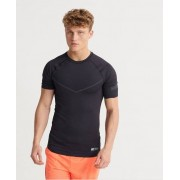 Superdry Training Kompressions-T-Shirt XXL schwarz