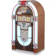 Ricatech RR3100 bruine Classic LED Jukebox Bluetooth