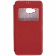 Husa Flip Cover Microsoft Lumia 550 - Rosu