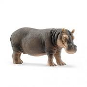 Schleich 14814 Hippopotamus Toy Figures-Standard