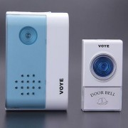 Wireless Calling Remote Door Bell for Home Shop Office (Multicolour)