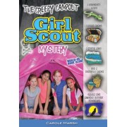 The Creepy Campout Girl Scout Mystery, Paperback