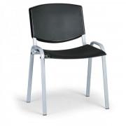 Kovo Praktik Konferenční židle Design, šedá podnož černá