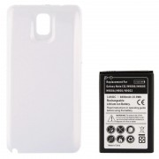 6800mAh Replacement Mobile Phone Battery & Cover Back Door for Galaxy Note III / N9000(White)