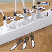 Coliere pentru etichetare cabluri