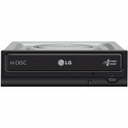 Quemador DVD LG GH24NSD1 24X Supermultidrive CD SATA-Negro