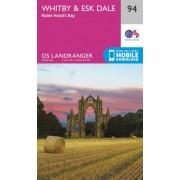 Wandelkaart 094 Landranger Whitby & Esk Dale, Robin Hood's Bay | Ordnance Survey