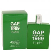 Gap 1969 Inspire Eau De Toilette Spray 3.4 oz / 100.55 mL Men's Fragrance 533221
