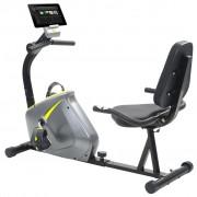 vidaXL Bicicleta estática reclinada massa rotativa 5 kg