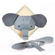 Hape - DIY Crafts - Friendly Elephant 3D Wall Art Kit